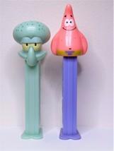 SpongeBob SquarePants Squidward & Patrick Pez Dispensers Set Of 2 - $10.99