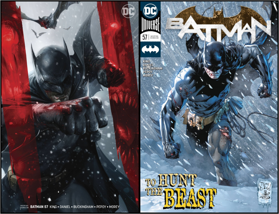 Batman 57 Both Regular and Mattina Variant Free Shipping
