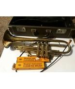 Vincent Bach Mercedes II Trumpet Mute Case Rough Repair - $197.01