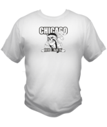 Chicago Hockey Sports Style Graphic T Shirt Black Red White L XL 2XL - $19.99