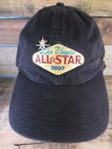 NBA All Star Las Vegas 2007 Noir Adidas Réglable Adulte Chapeau - $13.43