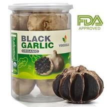 VINSULLA Organic Black Garlic 300 g Whole Black Garlic Aged for Full 90 ... - $18.28