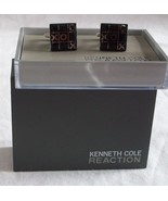 Mens CUFFLINKS Kenneth Cole REACTION  Square tic tac toe 9031-4575-40 - $12.73