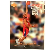 Jerry Stackhouse 1995-96 Upper Deck Rookie Card #133 NBA Philadelphia 76ers - $1.93