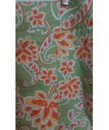 Liz Caliborne LizGolf Audra Womens Shorts Sz 16 Floral Green Orange Yell... - $10.88