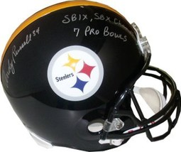 Andy Russell signed Pittsburgh Steelers Full Size Replica SB IX, SB X Ch... - $168.95