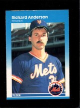 1987 FLEER #2 RICH ANDERSON EXMT (RC) METS  - $1.00