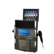 Bluetooth Professional Karaoke System with Built-in Stereo Speakers, USB... - $158.38