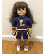 American Girl Doll - Pleasant Company - Cheerleader - Light Brown Hair &... - $59.35