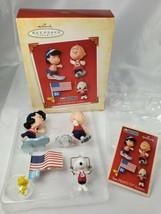 Hallmark Peanuts The Peanuts Games Set of 4 Olympics Ornaments 2004 - $9.85