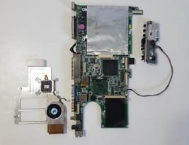 OEM Gateway 9550 Motherboard QCHMJH21300179 DA0UA2MBAG8 Rev G + Pentium ... - $29.65