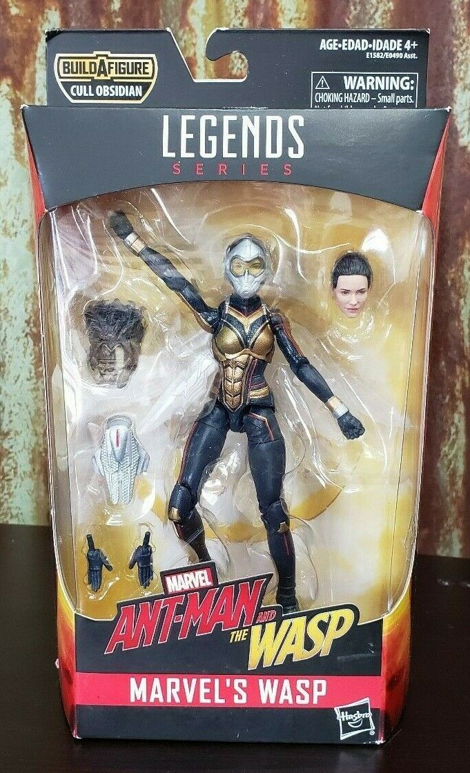 Primary image for Marvel Legends Series Ant-Man and the Wasp Marvels Wasp Obsidian BAF