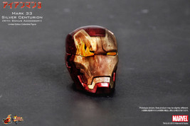 HOT TOYS  Iron Man Mark 33 Silver Centurion with bonus accessory New G47 - $599.98