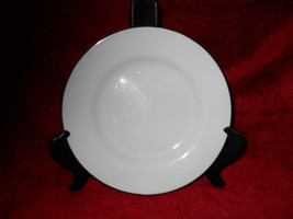 Crate & Barrel Classique Black Line salad  Plate - $7.91