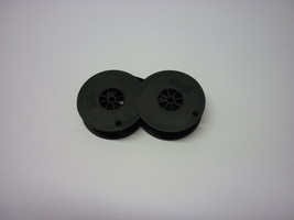 Kmart Deluxe 100 Typewriter Ribbon Black and Red Twin Spool image 2