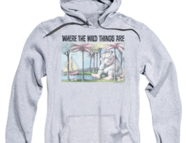 Where the Wild Things Are T-shirt Retro Childrens Book graphic hoodie WBM709 image 2