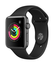Apple Watch Series 3 (GPS, 42mm) - Space Gray Aluminium Case with Black Sport Ba - $299.99