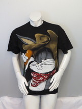 Vintage Graphic T-Shirt - Cowboy Bugs Bunny Huge Graphic - Men's Large  - $65.00