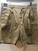 Roundtree & Yorke Travel Smart Classic Fit Pleated Men's Shorts Size 42 ... - $22.72