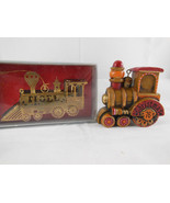 Vintage Hallmark 1976 and Gold plated brass Kurt Adler train Christmas o... - $13.85