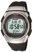 Casio Casio Watch Wave Ceptor Uebuseputa Radio Clock Digital Model Wv-5.... - $142.11 CAD