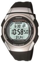 Casio Casio Watch Wave Ceptor Uebuseputa Radio Clock Digital Model Wv-5.... - $106.91