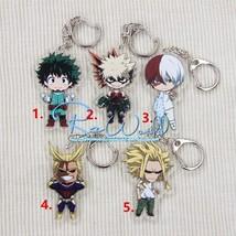 Anime My Hero Academia Boku no Hero Akademia Acrylic Keychain Straps - $6.91+