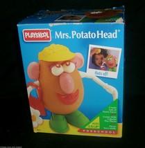 VINTAGE PLAYSKOOL MRS. POTATO HEAD TOY IN BOX 1994 IN BOX MRS MS GIRL HA... - $14.03