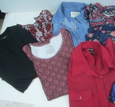 Woman's Size Large clothing lot of 10 items Resellers or Personal Wear Lg1B - $22.10