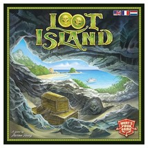 Loot Island Deck Building Board Game Strategy Interactive Multiplayer WY... - $33.95