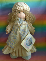 Vintage 1993 Precious Moments Doll Dawn in Old Fashioned Flannel Gown 16... - $24.70