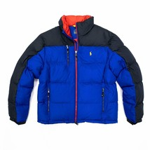Polo Ralph Lauren Nordic Ski Collection Men's Down Jacket BLUE RED - $199.99