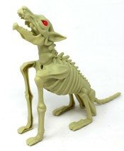 Halloween Skeleton Howling Dog Wolf with Red Glowing Eyes Motion Activated - $8.59