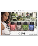 OPI Nail Polish Lacquer New Orleans Jambalayettes 4 colors Set Mini Coll... - $229,01 MXN