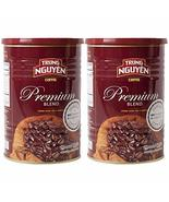 Trung Nguyen - Premium Blend - 2 Pack -425 grams | Vietnamese Coffee Who... - $49.49
