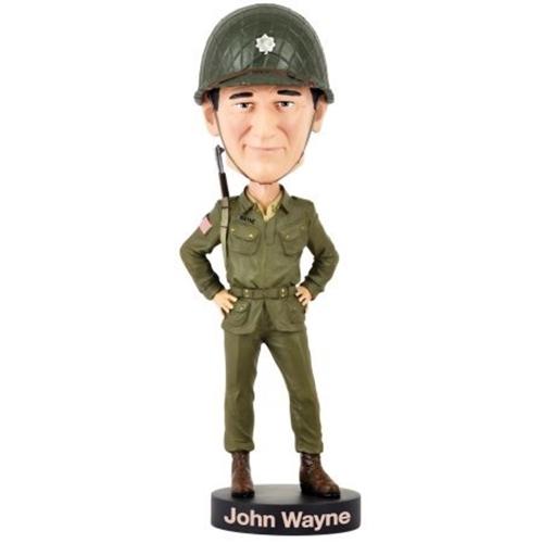 John wayne military bobblehead   wwii