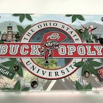 New Buckopoly The Ohio State University Buckeye Board Game Complete Mono... - $39.55