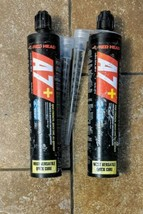 2 TUBES OF RED HEAD A7P-10 Trubolt Anchoring Adhesive, Cartridge, 10 oz.... - $24.75