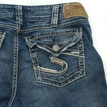 Silver Suki Surplus Thick Stitch Flap Pocket Boot Cut Jeans Women 30/30 ... - $34.50