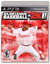 Major League Baseball 2K11 - Playstation 3 [video game] - $6.92
