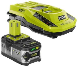 Ryobi Power Tool Battery Charger Starter Kit 4.0Ah 18V Lithium-Ion Recha... - $124.95