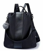 Large Soft, Durable, and Stylish Backpack in Black image 2