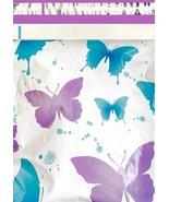 1-1000 6x9 ( Purple Butterflies ) Boutique Designer Mailer Bags Fast Shi... - $0.99+