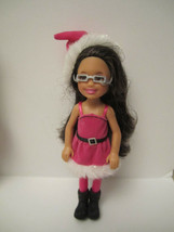Holiday Chelsea Santa Brunette Barbie Sister MINT DEBOXED 2011 Target Ex... - $12.00