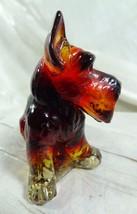 Charlie Scottie Dog Scottish Terrier Crimson Red Glass  11/23/2009 - $18.69
