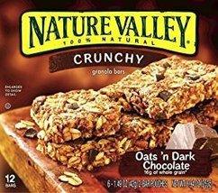 Nature Valley Crunchy Granola Bars Oats 'N Dark Chocolate 1.49 Oz. Pk Of 3. - $16.50