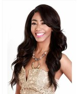 Zury Sis Royal Swiss Lace Front Remy Fiber Long Curly Wig SW-Lace H AURA - $44.99