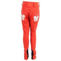Daisy Clipper Kids Breeches Red with Butterflies Size 10 image 1