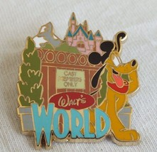 Disney Pin - Adventures by Disney - Backstage Magic - Walt's World (Plut... - $19.79