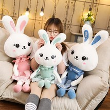60 110cm Lovely Rabbit Plush Toy Soft Love Rabbit Toy 3 Colour Stuffed A... - $39.40